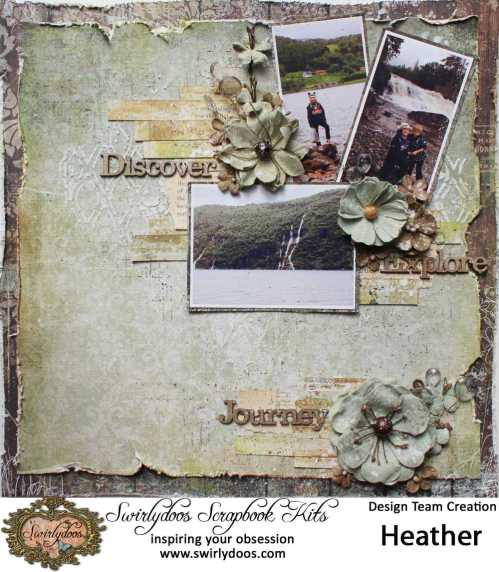 Discover Mixed Media Layout
