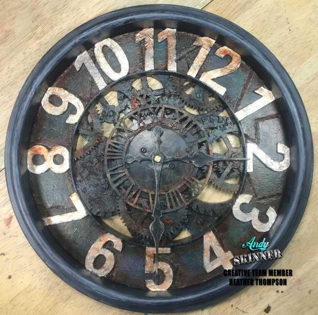 Clock Andy Skinner