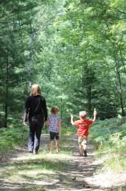 The kids & I love exploring the world outside.
