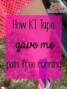 kt tape running