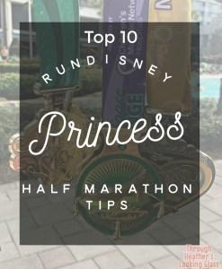 runDisney princess half tips