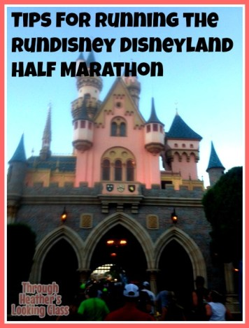 Disneyland half marathon tips