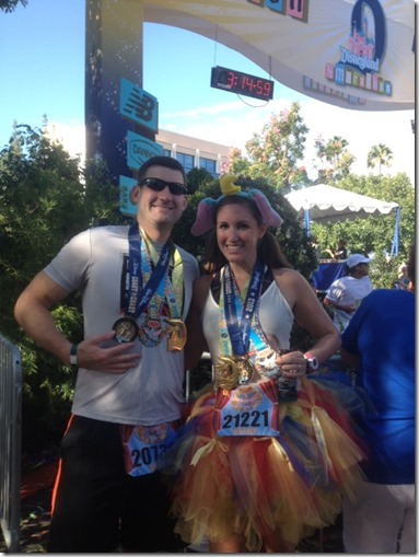 runDisney finish