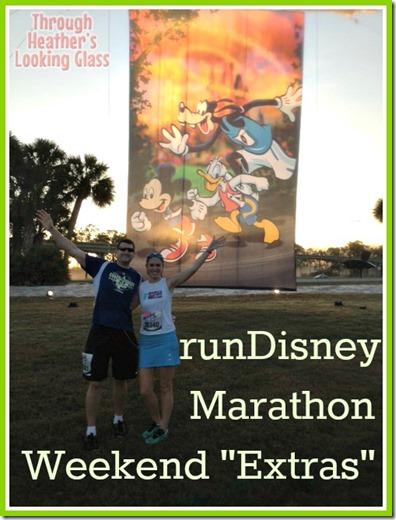 runDisney marathon extras