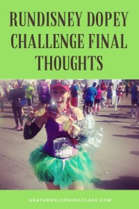 final thoughts on the rundisney dopey challenge