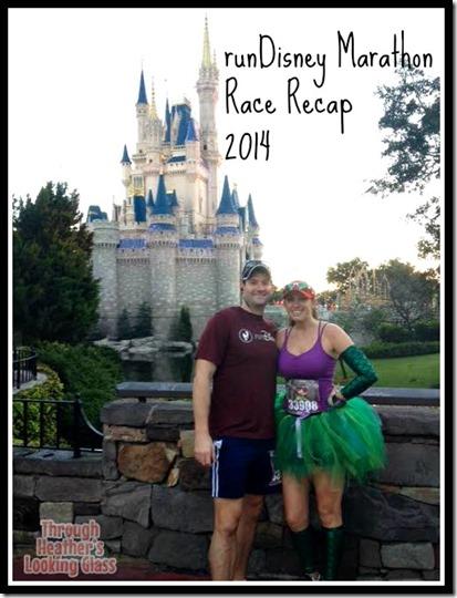 rundisney marathon recap