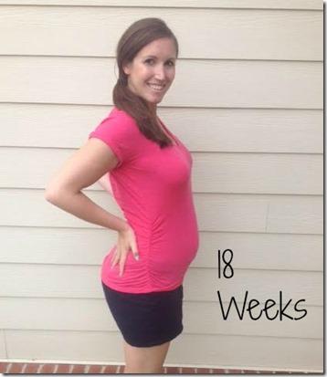 18weeks bump