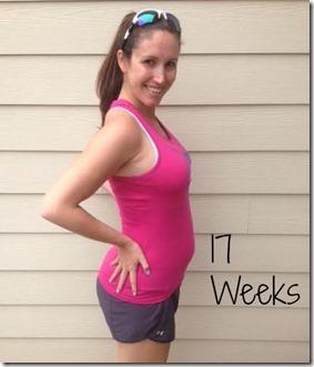 17weeks bump
