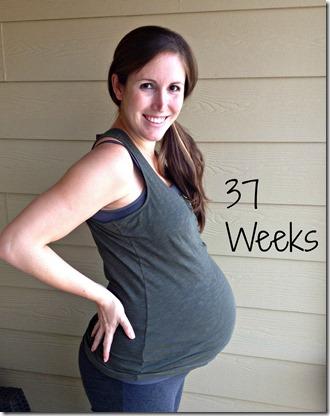 37weeks bump3