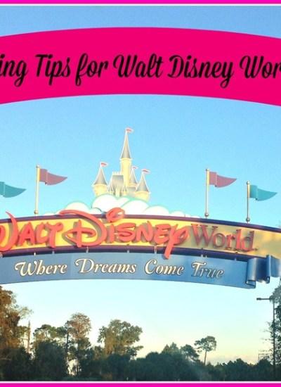 Packing for a Walt Disney World Trip