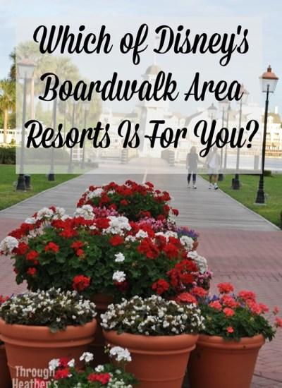 Disney's Boardwalk Area Resorts