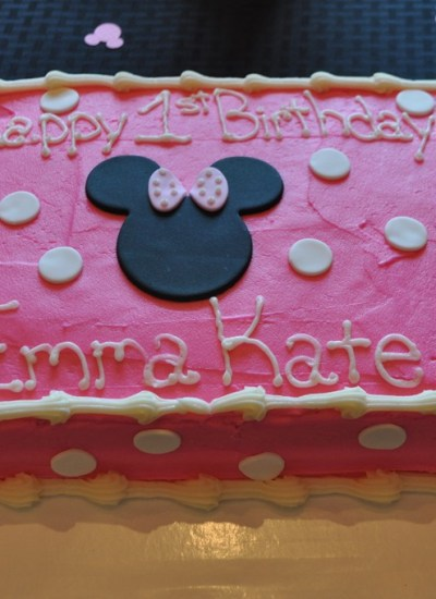 Emma Kate's First Birthday Party