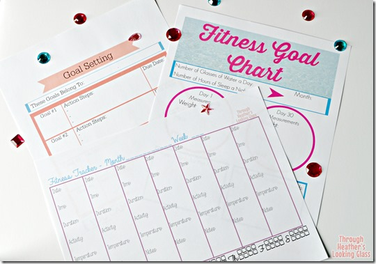fitness and goal tracker