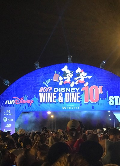 runDisney Wine and Dine 10K Recap 2017