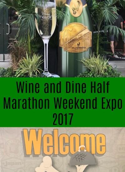 Wine and Dine Half Marathon Weekend Expo 2017