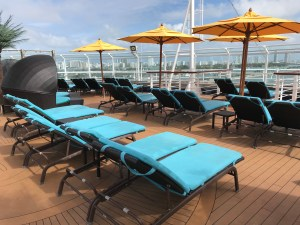 board the carnival vista