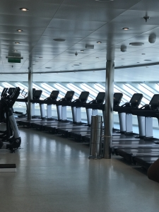 Fitness on the carnival vista