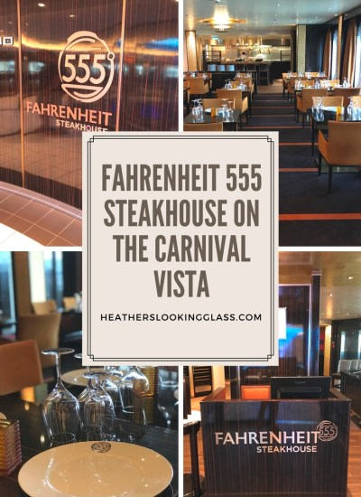 Fahrenheit 555 on the Carnival Vista