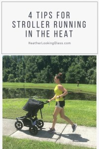 stroller running