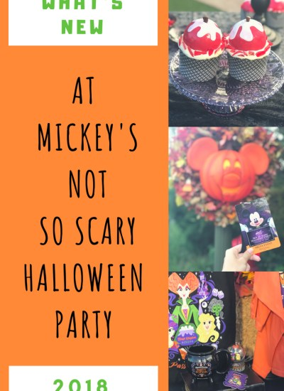What's New at Mickey's Not So Scary Halloween Party 2018
