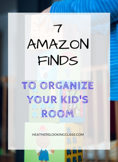 7 Amazon Finds to Organize Your Kid's Room