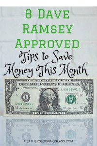 8 Dave Ramsey Approved Tips to Save Money This Month