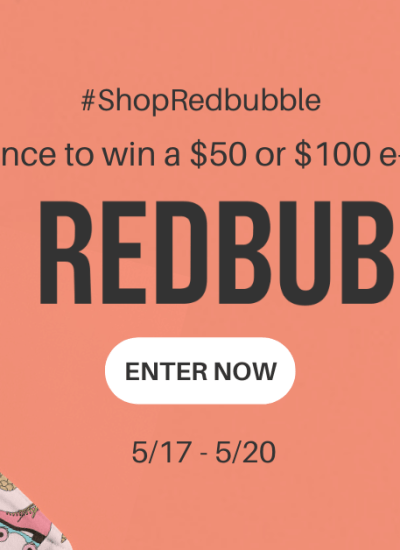 Shop Redbubble.com for Gifts (and Enter a Giveaway!)
