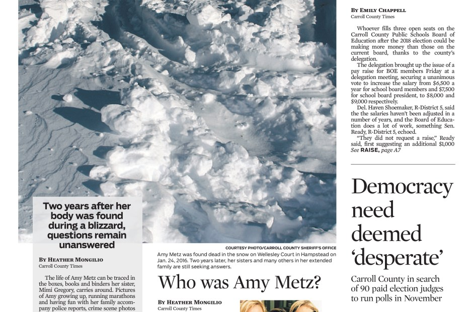 What Happened to Amy Metz?