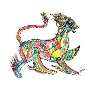 Fantatical Dragon by Daniela Lucia
