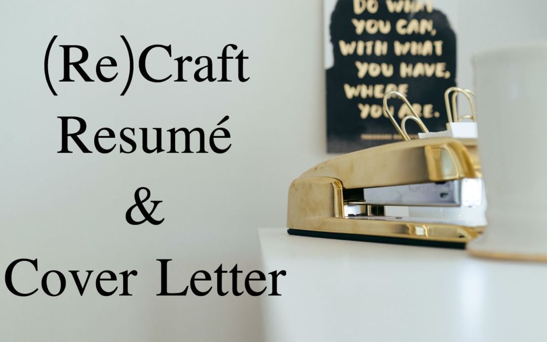 New Flat-Rate Service for Resumés and Cover Letters