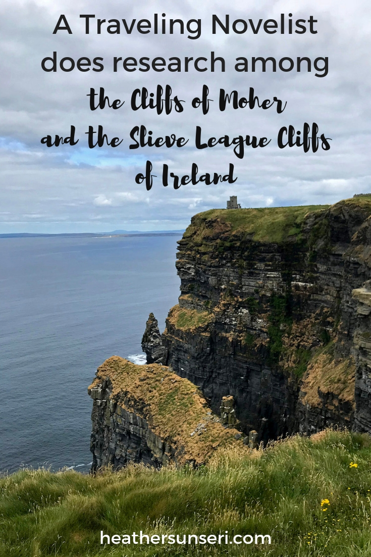 What do Declan O'Roark, cliffs of Moher, the sleeve league cliffs of Ireland and the ending to a Thief Consumed all have in common? Heather Sunseri | International Thief Series | Romantic Suspense | Thriller | Romance | Novels | Author