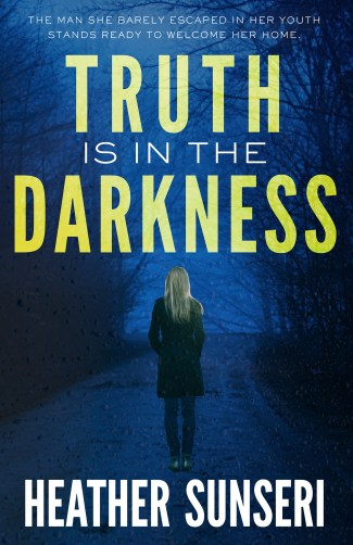 truth is in the darkness thriller novel Heather Sunseri Paynes Creek thriller series