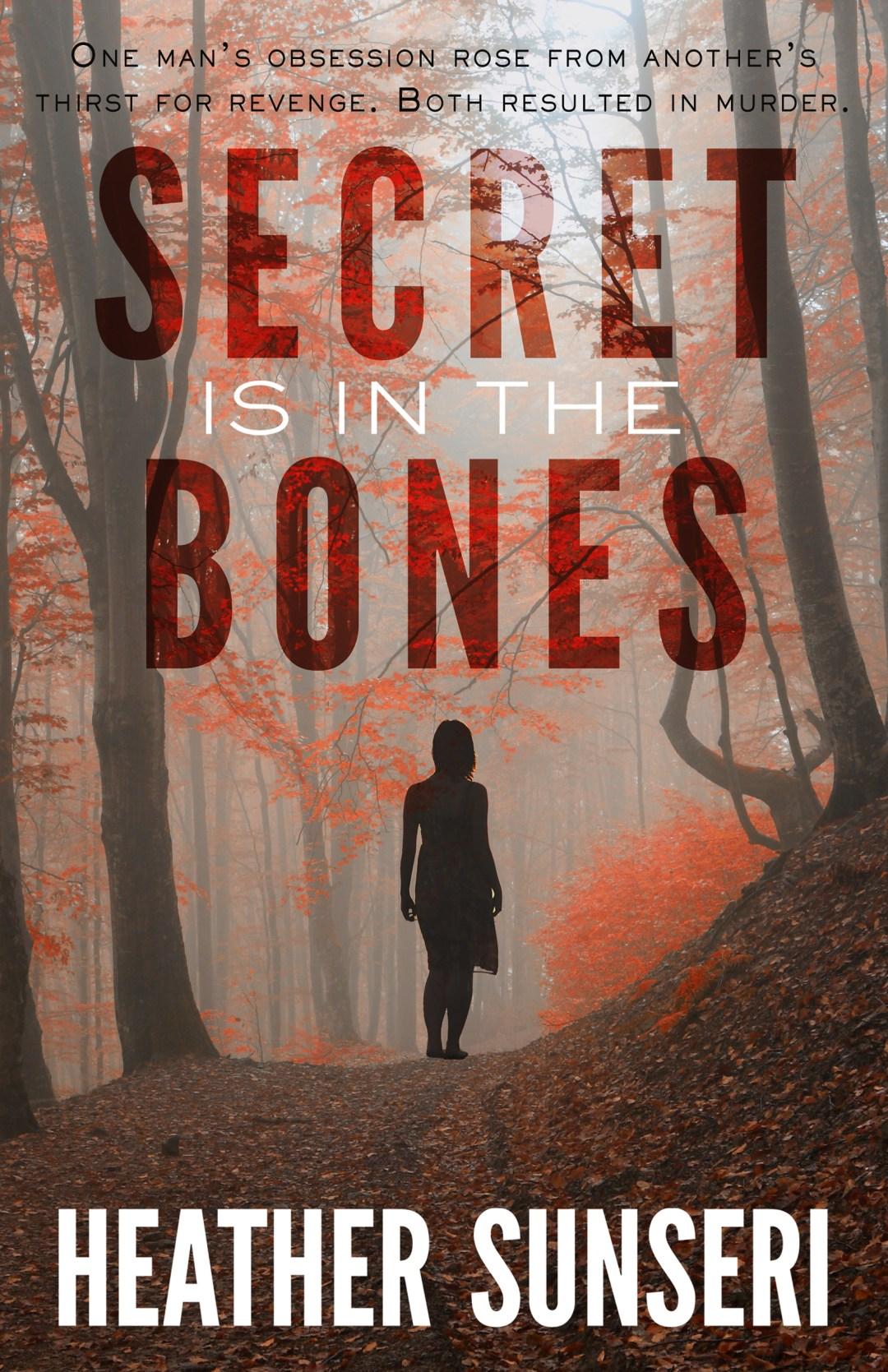 Secret is in the Bones by Heather Sunseri Paynes Creek psychological thriller romantic suspense