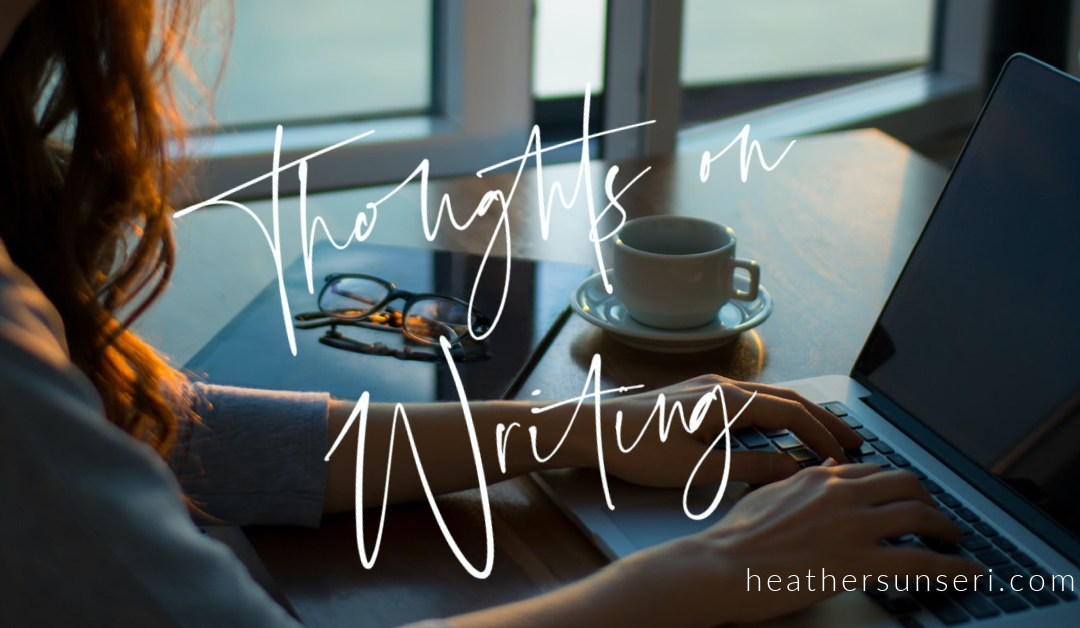 Thoughts on Writing: Just Start