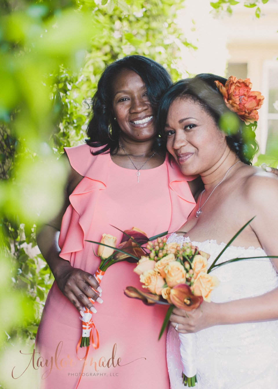 Bride & Maid of Honor Sweetheart Las Vegas Wedding