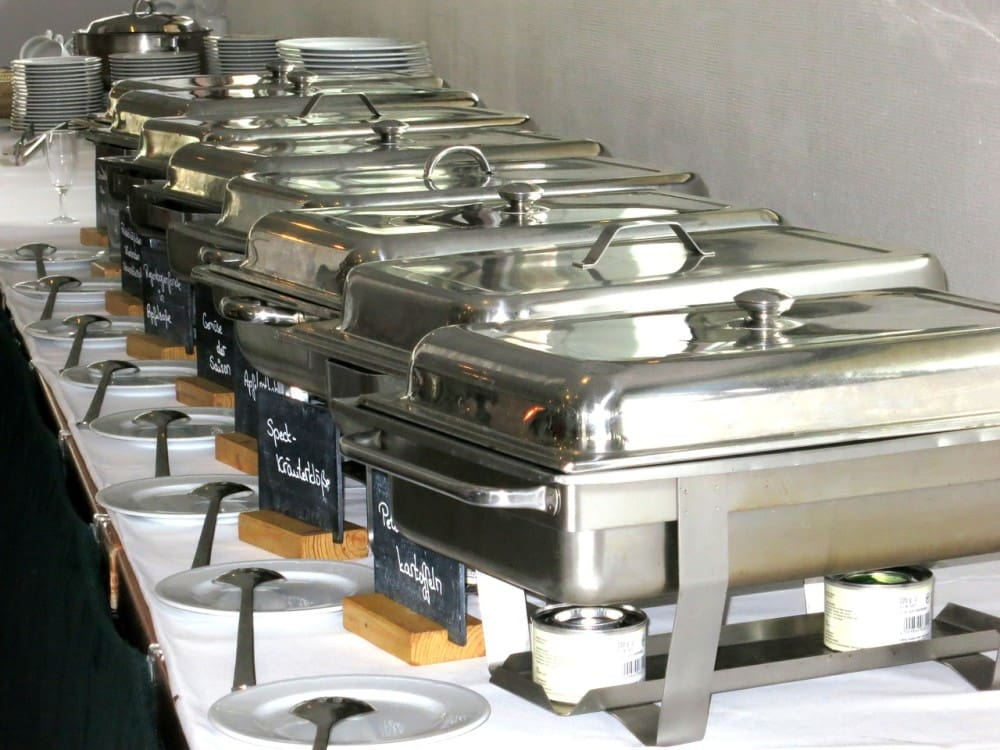 Five Reasons to Not Use Chafing Fuel as Catering Heaters