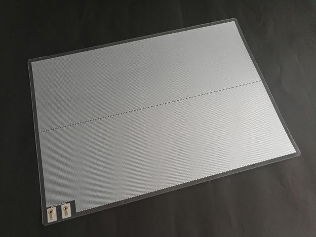 アルミ箔エッチングフィルムヒーター AL-AC-A3