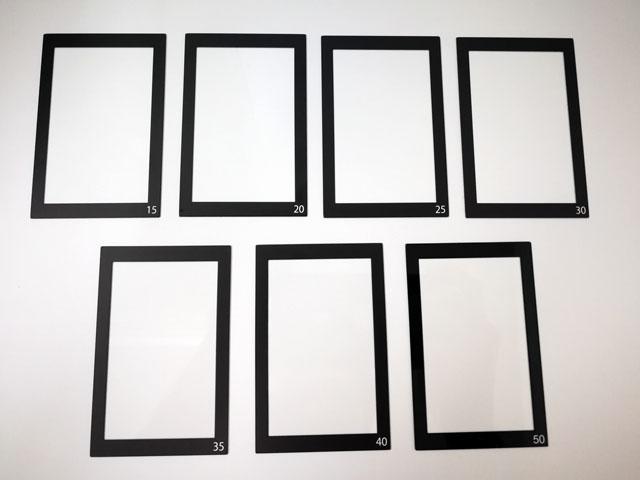 段差印刷ガラス OCAメーカー向け