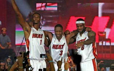 2fd6c4d2cd10 Chris Bosh Says Miami Heat Big 3 Made Kevin Durant Leave Thunder for  Warriors - Heat