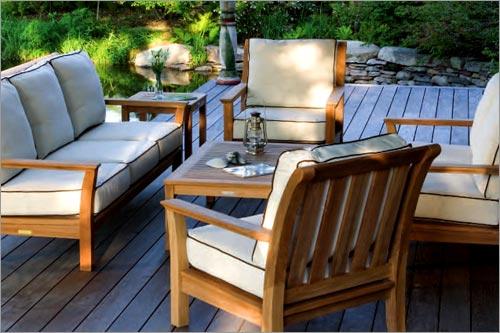 Teak Outdoor Seating