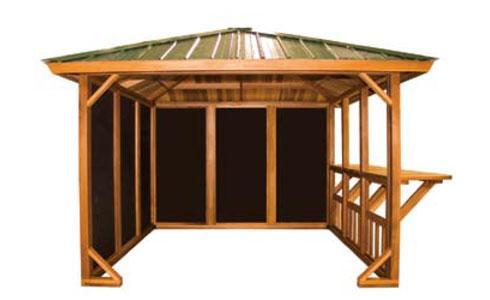 Cedar Hot Tub Gazebo 10 X 10 Gazebo In Okemos MI