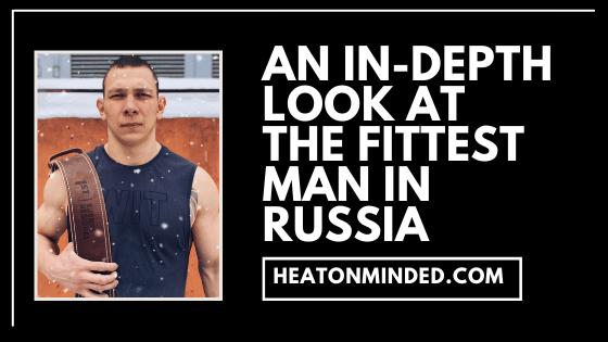 fittest man in russia
