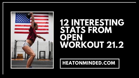 crossfit open 21.2 stats