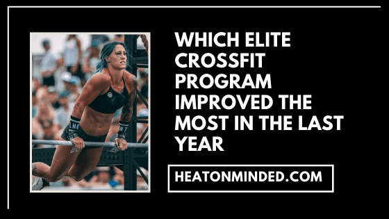 best crossfit programs