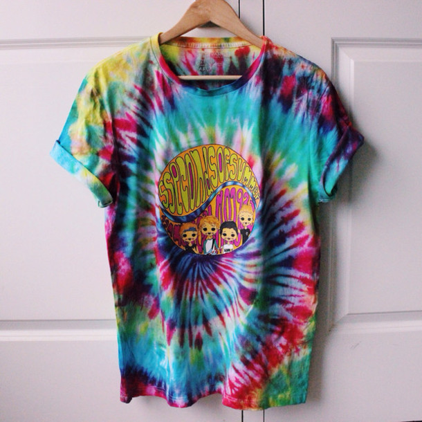 277aa014a2b7d8 Guide In Taking The Tie-Dye Shirt To The Next Level