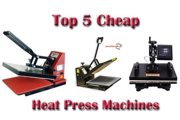 cheap heat press machines