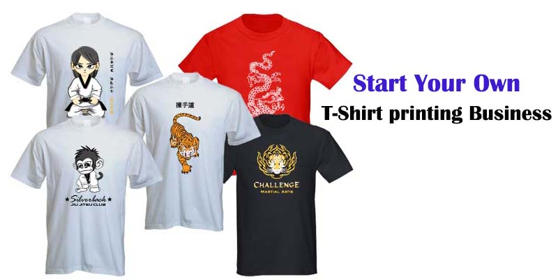 t-shirt printing business