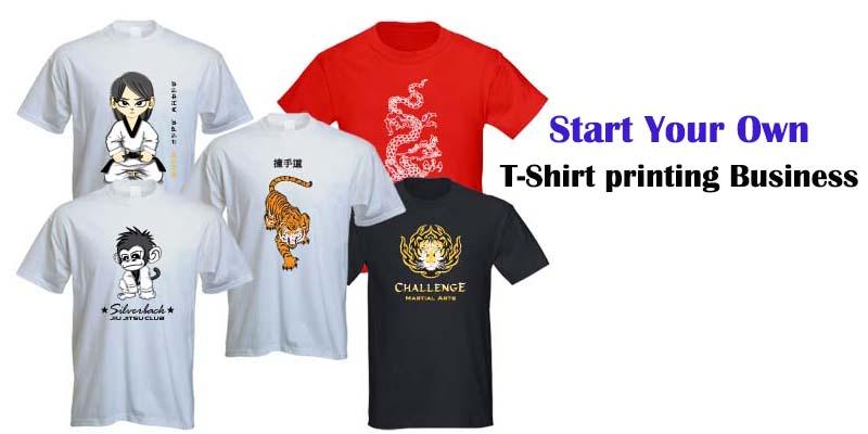 Starting a t-shirt printing business