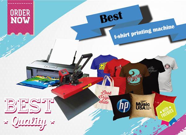 Best t shirt printing machine 2017 - Buyer's Guide