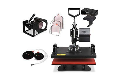 OrangeA Heat Press 8 in 1 Swing Away Heat Press